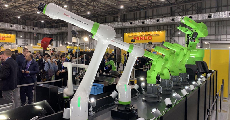 FANUC Collaborative Robot Range
