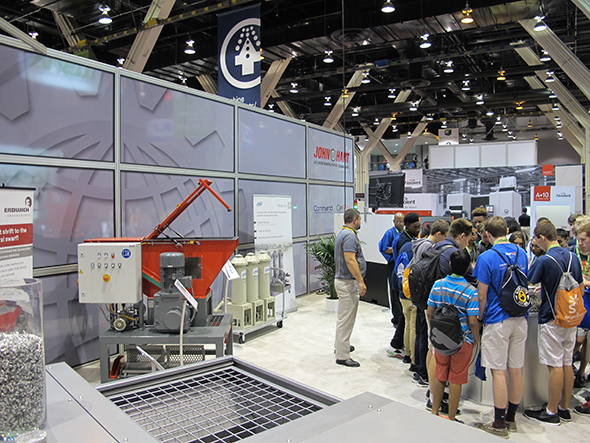 John Hart USA Booth at IMTS 2016