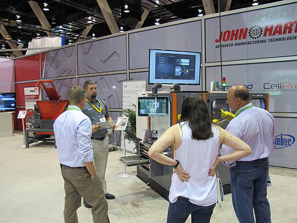 Seriously easy CNC automation on show at IMTS 2016